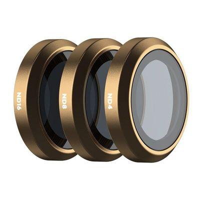 Für weitere Info hier klicken. Artikel: POLARPRO Cinema Filter 3er Set SHUTTER für DJI Mavic 2 Zoom
