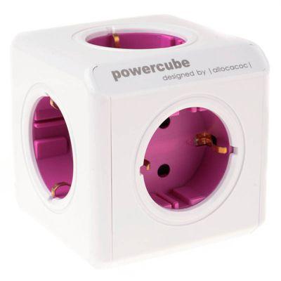 Für weitere Info hier klicken. Artikel: Powercube Allocacoc ReWirable Mehrfachsteckdose magenta