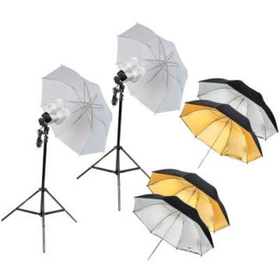 Für weitere Info hier klicken. Artikel: Quenox 2 Tageslicht-Boden-Fotolampen 120W für Foto & Video Set