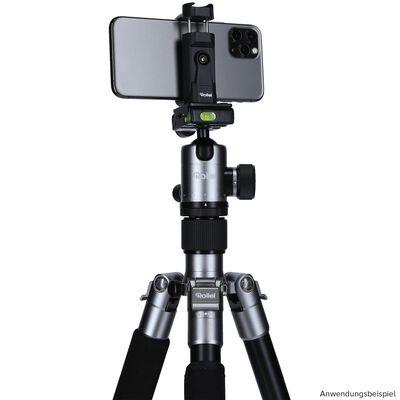 Für weitere Info hier klicken. Artikel: Rollei C5i Alu 159cm (IE) inkl. Kugelkopf FPH-52Q + Tasche titan