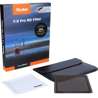Für weitere Info hier klicken. Artikel: Rollei F:X Pro 100mm ND8