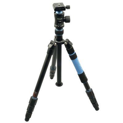 Für weitere Info hier klicken. Artikel: Rollei Fotopro C5i II+T3S Alu. blau
