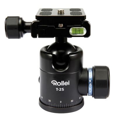 Für weitere Info hier klicken. Artikel: Rollei Kugelkopf T2S inkl. QAL-40 u. Beutel