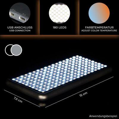 Für weitere Info hier klicken. Artikel: Rollei Lumen Pocket LED Videolicht silber