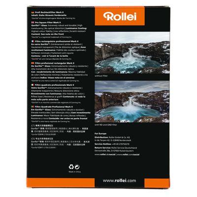 Für weitere Info hier klicken. Artikel: Rollei Rechteckfilter Profi Mark II Soft Nano IR GND8 (3 Stopps/0,9) 100mm
