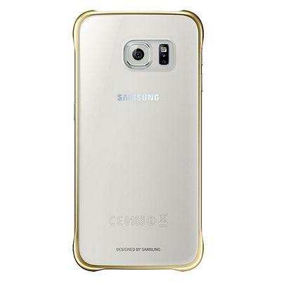 Für weitere Info hier klicken. Artikel: Samsung Clear Cover G920F Galaxy S6 gold