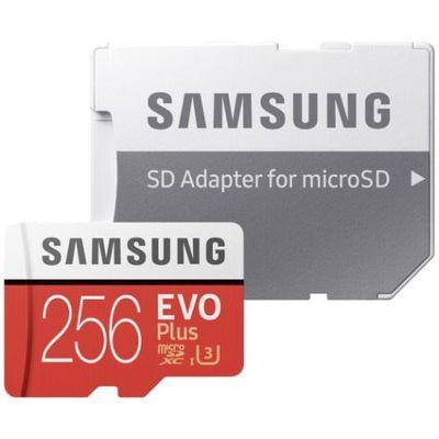 Für weitere Info hier klicken. Artikel: Samsung EVO plus microSDXC mit Adapter 256 GB