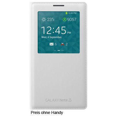 Für weitere Info hier klicken. Artikel: Samsung Galaxy Note3 S-View Cover weiß