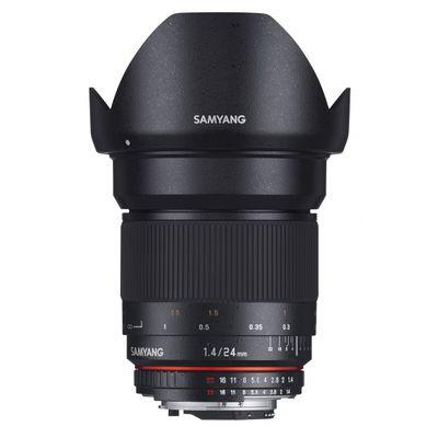 Für weitere Info hier klicken. Artikel: Samyang 1,4/24 ED AS IF UMC Fujifilm X