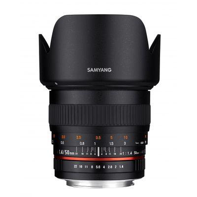 Für weitere Info hier klicken. Artikel: Samyang 1,4/50 AS UMC Samsung NX