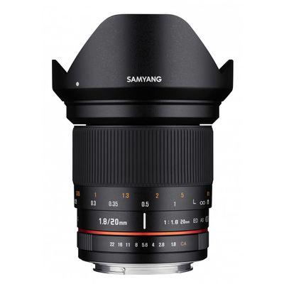 Für weitere Info hier klicken. Artikel: Samyang 20mm F1.8 ED AS UMC Samsung NX