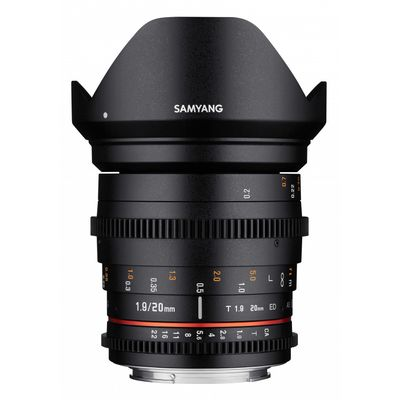 Für weitere Info hier klicken. Artikel: Samyang 20mm T1.9 VDSLR ED AS UMC Pentax K Vollformat