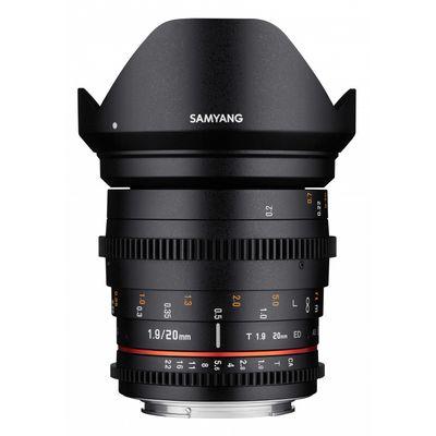 Für weitere Info hier klicken. Artikel: Samyang 20mm T1.9 VDSLR ED AS UMC Sony E-Mount