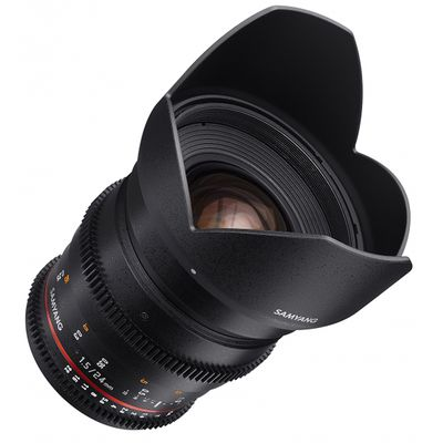 Für weitere Info hier klicken. Artikel: Samyang 24mm T1.5 VDSLR ED AS IF UMC II Nikon FX