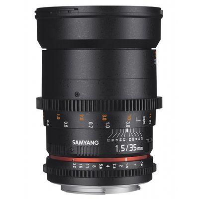 Für weitere Info hier klicken. Artikel: Samyang 35mm T/1,5 VDSLR AS UMC II Canon EF