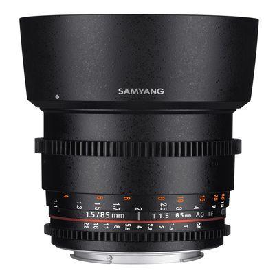 Für weitere Info hier klicken. Artikel: Samyang 85mm f/1,5 Video DSLR II Micro Four Thirds