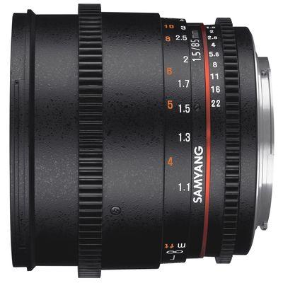 Für weitere Info hier klicken. Artikel: Samyang 85mm T/1,5 Video DSLR II Nikon FX
