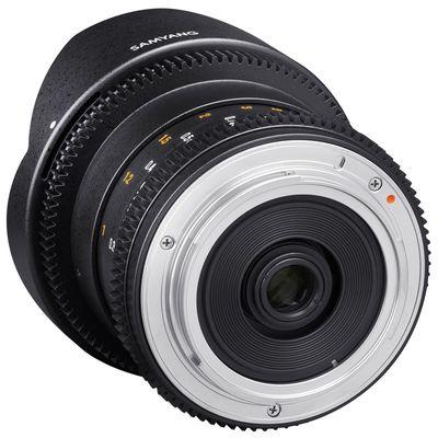 Für weitere Info hier klicken. Artikel: Samyang 8mm f/3,8 Fisheye II Video APS-C Canon EF