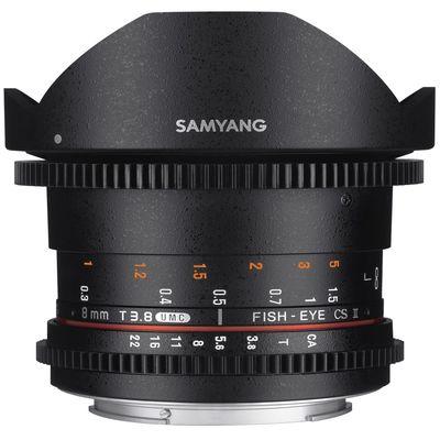 Für weitere Info hier klicken. Artikel: Samyang 8mm f/3,8 Fisheye II Video APS-C Sony E-Mount