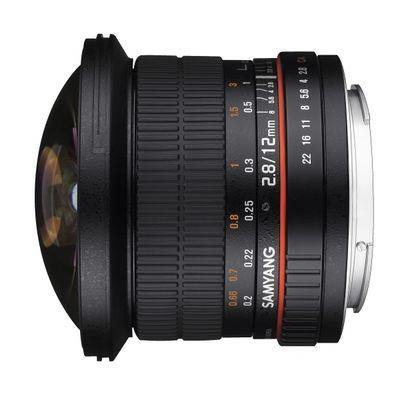 Für weitere Info hier klicken. Artikel: Samyang Fisheye 2,8/12 Canon EF-M