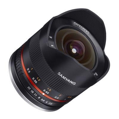 Für weitere Info hier klicken. Artikel: Samyang Fisheye 2.8/8 II UMC Canon EF-M schwarz