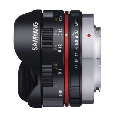 Für weitere Info hier klicken. Artikel: Samyang Fisheye 7,5mm f/3,5 Micro Four Thirds schwarz