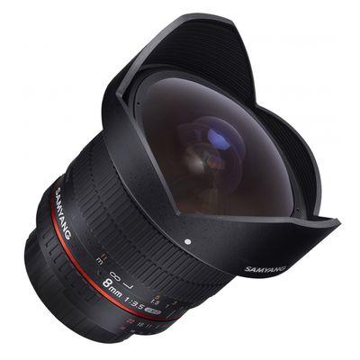 Für weitere Info hier klicken. Artikel: Samyang Fisheye 8mm f/3,5 UMC CS II Nikon DX