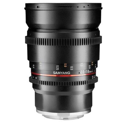Für weitere Info hier klicken. Artikel: Samyang MF 16mm T/2,2 Video Canon EF-M