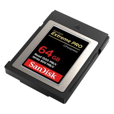 Für weitere Info hier klicken. Artikel: SanDisk CFexpress Extreme Pro 64 GB