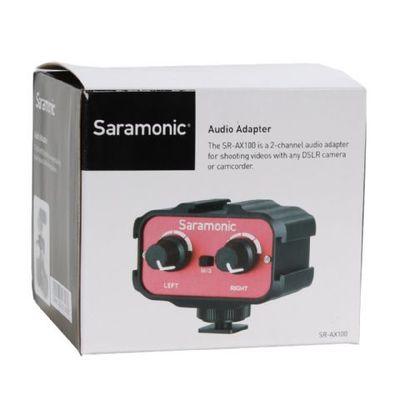 Für weitere Info hier klicken. Artikel: Saramonic SR AX100 Universal Audio Adapter