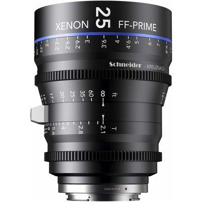Für weitere Info hier klicken. Artikel: Schneider-Kreuznach Cine Lens Xenon FF-Prime 25mm, T/2,1 Nikon FX