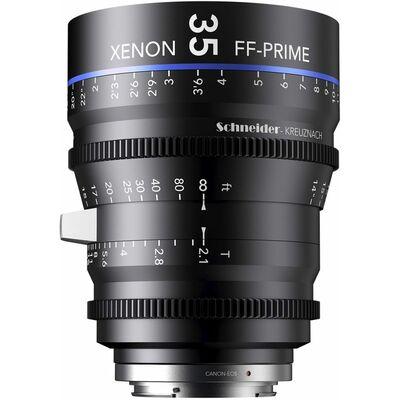 Für weitere Info hier klicken. Artikel: Schneider-Kreuznach Cine Lens Xenon FF-Prime 35mm, T/2,1 Sony FE-Mount