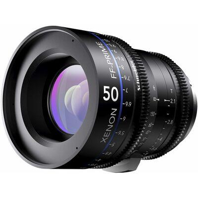 Für weitere Info hier klicken. Artikel: Schneider-Kreuznach Cine Lens Xenon FF-Prime 50mm, T/2,1 Nikon FX