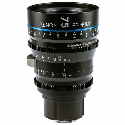 Für weitere Info hier klicken. Artikel: Schneider-Kreuznach Cine Lens Xenon FF-Prime 75mm, T/2,1 Nikon FX