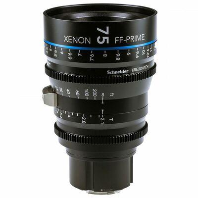 Für weitere Info hier klicken. Artikel: Schneider-Kreuznach Cine Lens Xenon FF-Prime 75mm, T/2,1 Sony FE-Mount