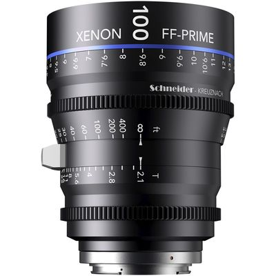 Für weitere Info hier klicken. Artikel: Schneider-Kreuznach Cine Lens Xenon FF-Prime 100mm, T/2,1 PL Mount
