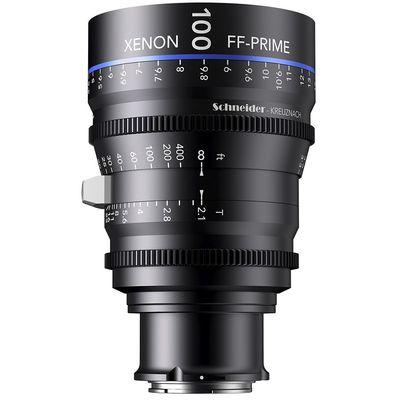 Für weitere Info hier klicken. Artikel: Schneider-Kreuznach Cine Lens Xenon FF-Prime 100mm, T/2,1 Sony FE-Mount