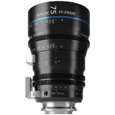 Für weitere Info hier klicken. Artikel: Schneider-Kreuznach Cine-Tilt Lens Xenon FF-Prime 75mm, T/2,1 Sony FE-Mount