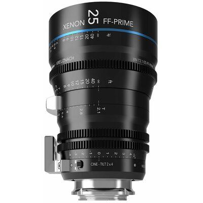 Für weitere Info hier klicken. Artikel: Schneider-Kreuznach Cine-Tilt Lens Xenon FF-Prime 25mm, T/2,1 Sony FE-Mount