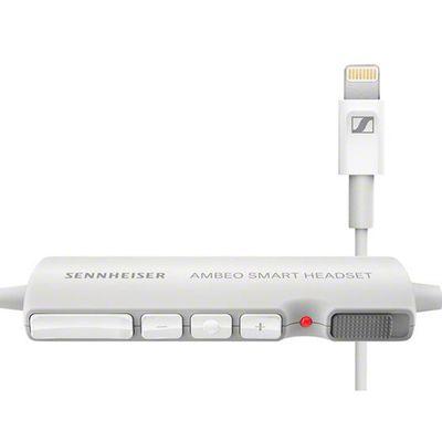 Für weitere Info hier klicken. Artikel: Sennheiser Ambeo Smart Headset, weiß Ohrhörer mit Mikrofon für iOS