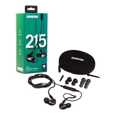 Für weitere Info hier klicken. Artikel: Shure SE215-K-UNI-EFS Sound Isolating Ohrhörer, schwarz