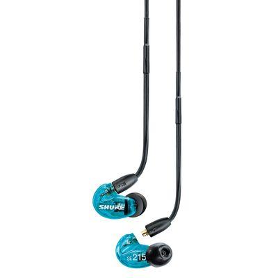 Für weitere Info hier klicken. Artikel: Shure SE215SPE-B-BT1-EFS Sound Isolating Ohrhörer, blau