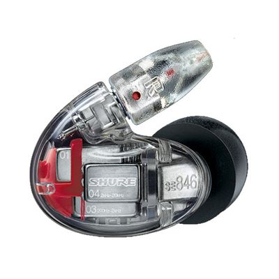 Für weitere Info hier klicken. Artikel: Shure SE846-CL-LEFT Ersatz Ohrhörer, links, transparent