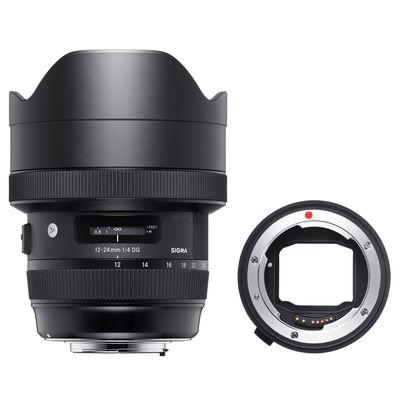 Für weitere Info hier klicken. Artikel: Sigma 4,0/12-24 DG HSM A Canon EF + Sigma Mount Converter MC-11 Sony FE Mount Sony FE-Mount