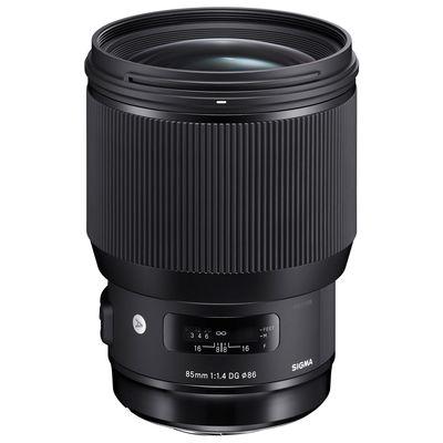 Für weitere Info hier klicken. Artikel: Sigma AF 85mm f/1,4 DG HSM ART Nikon FX