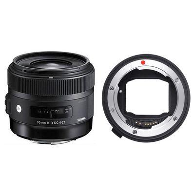 Für weitere Info hier klicken. Artikel: Sigma AF 30mm f/1,4 DC HSM A Canon EF-S+ Sigma Mount Converter MC-11 Sony FE Mount Sony E-Mount