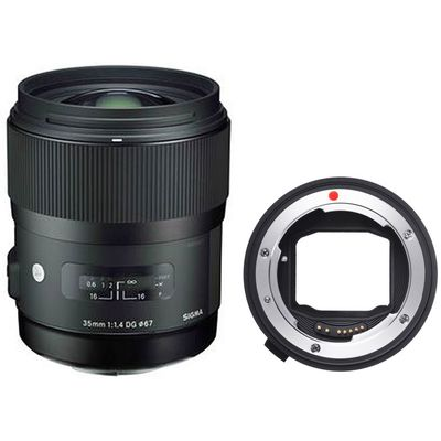 Für weitere Info hier klicken. Artikel: Sigma AF 35mm f/1,4 DG HSM A Canon EF + Sigma Mount Converter MC-11 Sony FE Mount Sony FE-Mount