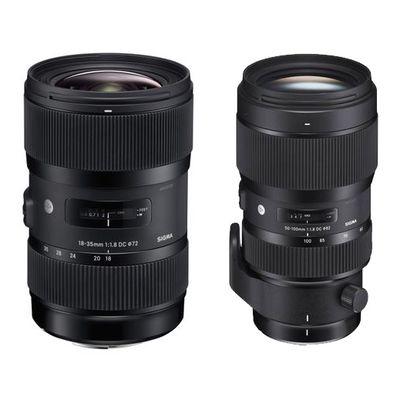 Für weitere Info hier klicken. Artikel: Sigma AF 1,8/18-35 DC HSM A + Sigma AF 1,8/50-100 DC HSM A Set + USB Dock gratis Canon EF-S