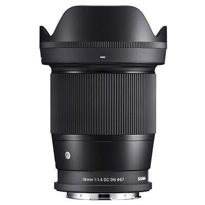 Für weitere Info hier klicken. Artikel: Sigma AF 16mm f/1,4 DC DN C L-Mount