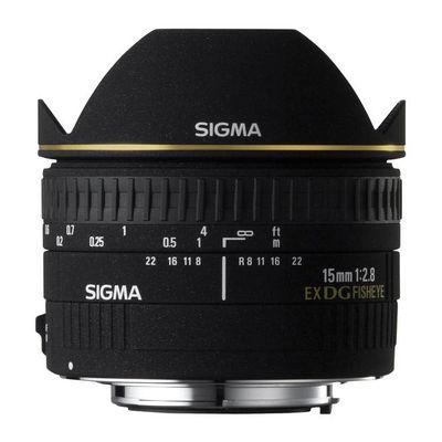 Für weitere Info hier klicken. Artikel: Sigma AF 2,8/15 EX DG diag.Fisheye Canon EF